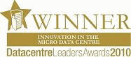 Datacentre Leaders Awards Winner 2010