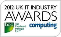 UK IT Industtry Awards Winner 2012